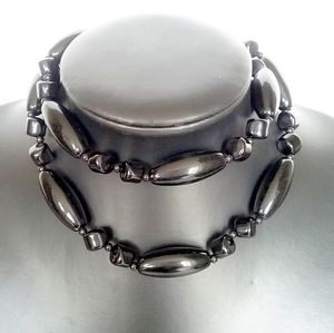 🎈3/$12 Black Bead Necklace
